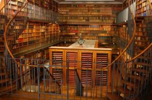 Bibliotheque du théâtre (c) André Pelle